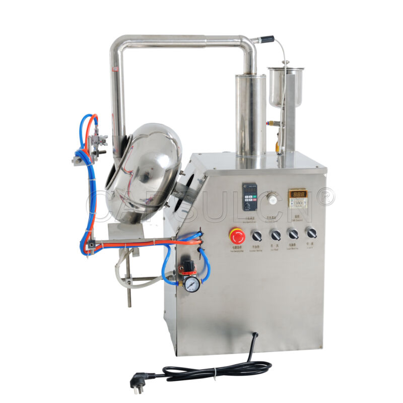 110/220V BYC-600 Tablet Coating machine Coating Pan for pharmacy items