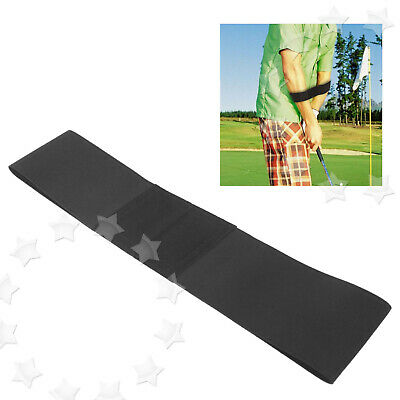 - Elastic Golf Swing Arm Band Swing Trainer Training Aid Posture Guide Correct
