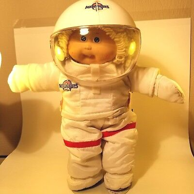 Vintage CABBAGE PATCH Blonde Girl Astronaut Exc. Condition! for sale  Springfield