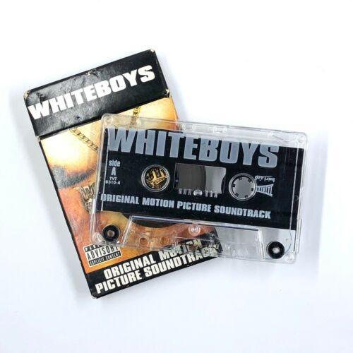 WHITEBOYS Soundtrack Cassette Tape 1999 Raekwon Three 6 Mafia Rap Hip-Hop Rare