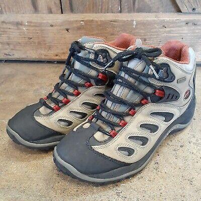Merrell Reflex Mid Waterproof Hiking Boots Mens Size 8 Performance Footwear