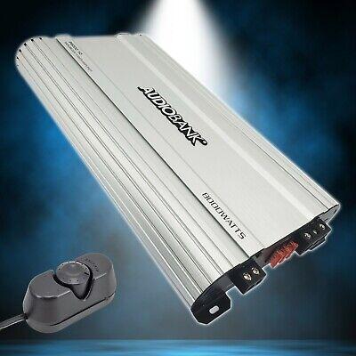 Audiobank Monoblock 8000 WATTS Amp Classe D 1ohm Amplificador estéreo para carro P8001