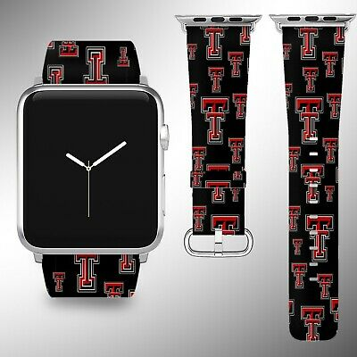 - Texas Tech Red Raiders Apple Watch Band 38 40 42 44 mm Series 1 -4 Wrist Strap 1