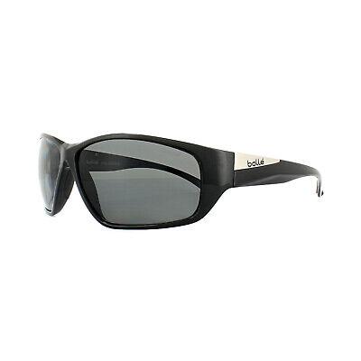 Bolle Sonnenbrille Keel 11993 Glänzend Schwarz Modulator Grau Polarisiert