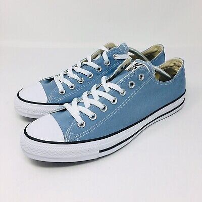 *NEW* Converse All Star Chuck Taylor (Men Size 10.5) Canvas Shoes Washed Denim
