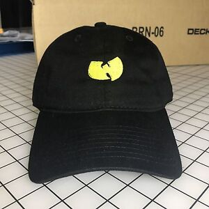 eb6f29895e2 Wu-Tang Dad Hat Unstructured Baseball Cap Black Brand New - Free Shipping