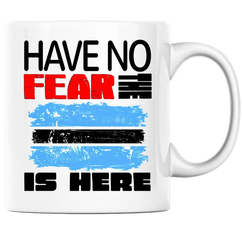 Have No Fear the Botswanan is Here Funny Coffee Mug Botswana Heritage Pride