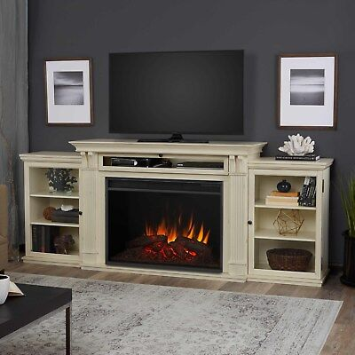 RealFlame Tracey Electric Fireplace Media Unit Grand Infrared X-Lg Firebox White ()
