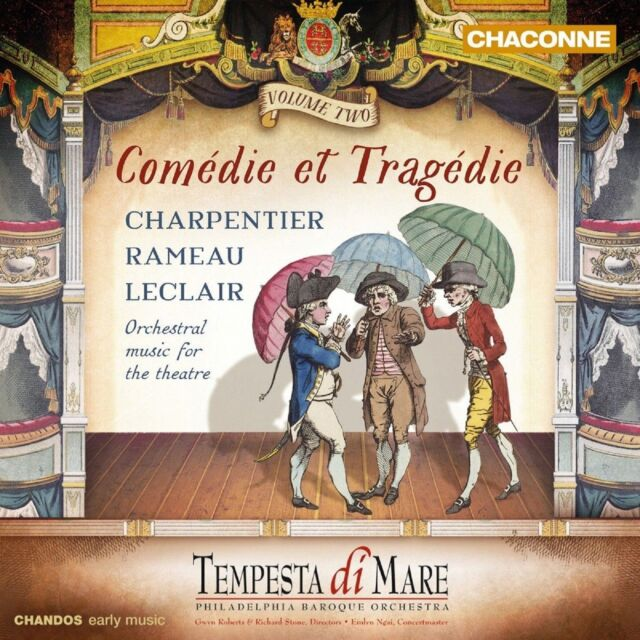 Comedie Et Tragedie Vol 2 Tempesta Di Mare Original Audio Music CD New Volume 2