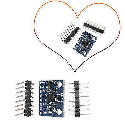3 Axis Gyroscope Mpu-6050 6dof With Accelerometer Module For Arduino Diy Rd556