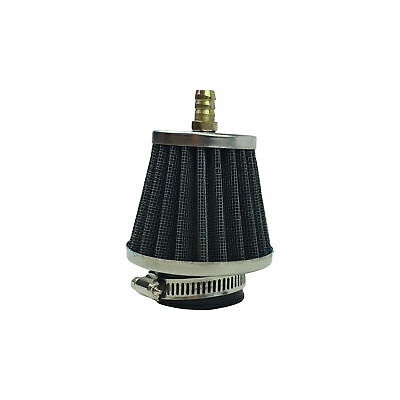 39mm Cone Air Filter with Exhaust Nipple Apollo Go Kart Dirt Pit Bike 110 125 cc