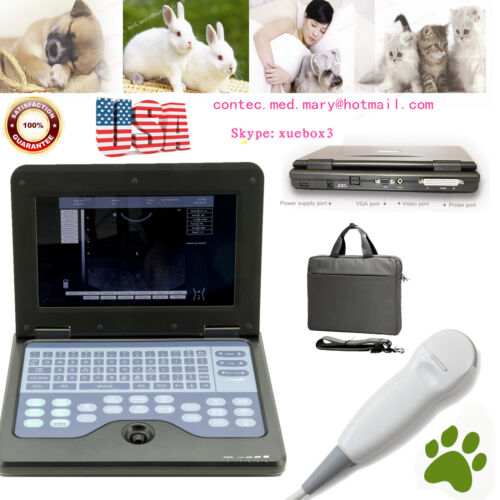 Veterinary ,laptop Ultrasound Scanner Machine Vet Micro Convex Probe,dog/cat/pet