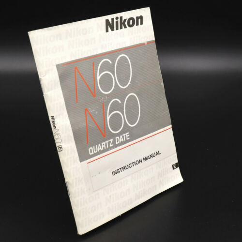 Genuine OEM Nikon N60 User
