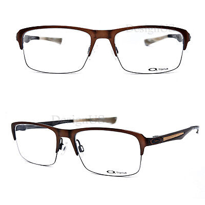 Oakley HOLLOWPOINT 0.5 OX5091-0352 Antique Copper Titanium 52/17/138 Eyeglasses