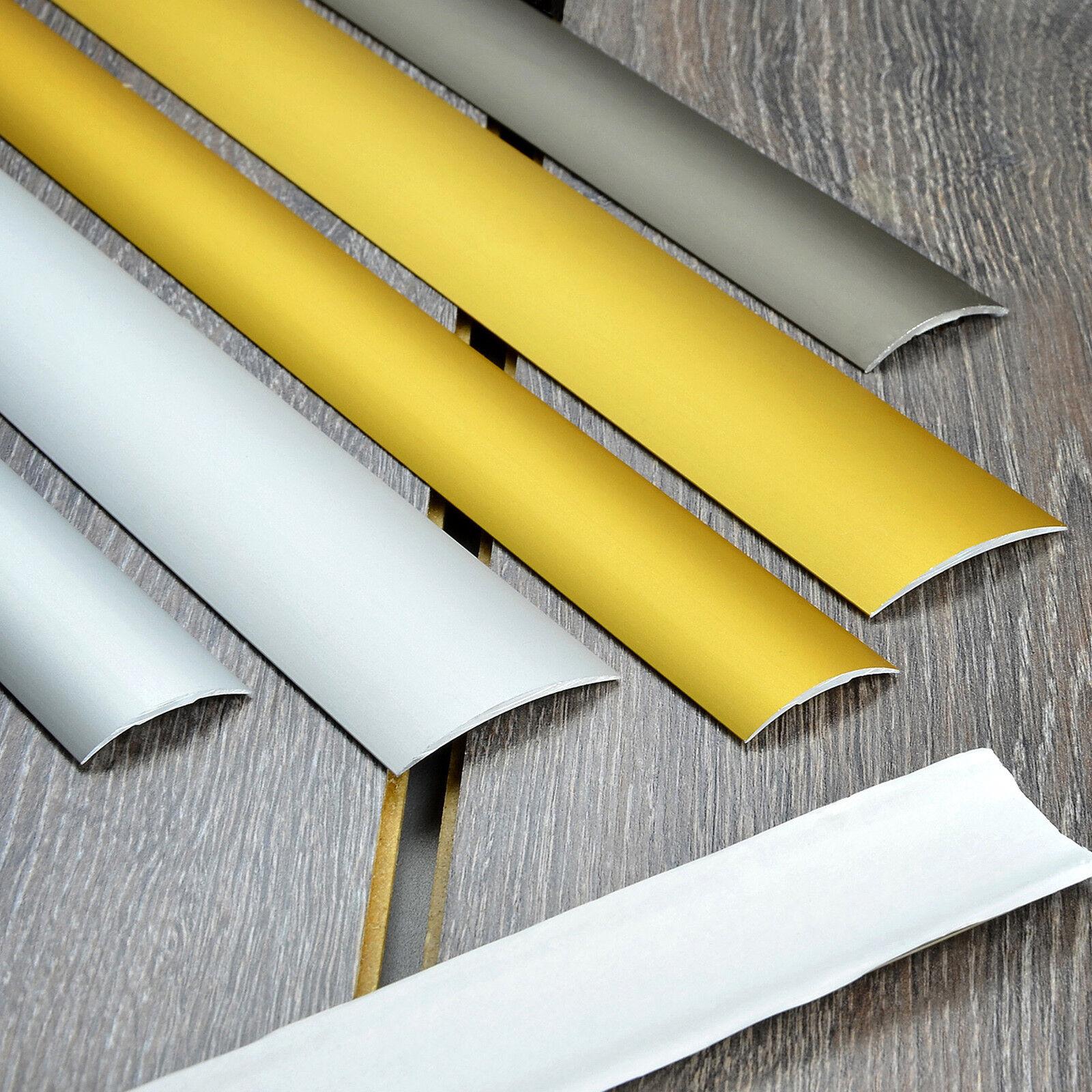 Abschlußprofil Übergangsprofil Bodenleiste Aluprofil Treppenprofil 90cm Schienen