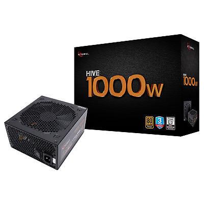 Rosewill 1000 Watt Gaming Computer Power Supply, 80 Plus Bronze PSU, HIVE-1000S