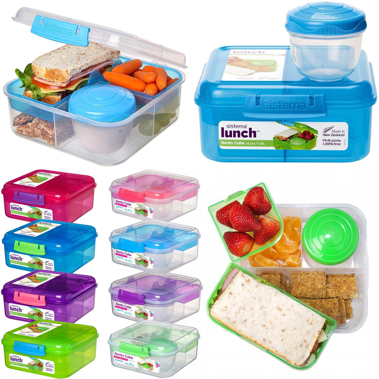 Bento Cube Lunchbox Joghurtbecher Brotdose Brotbox Vesperdose Quaddie Frischebox