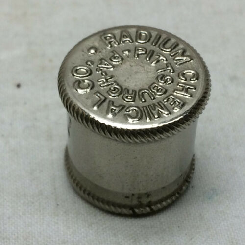 Vintage Radium Chemical Co. Pittsburgh PA Radium Rays & Alpha Particle Viewer