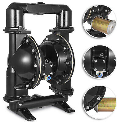 Air-operated Double Diaphragm Pump Qby4-50l 2inch Inlet Petroleum Fluids 140 Gpm