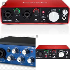 Looking for audio interface in Durham region