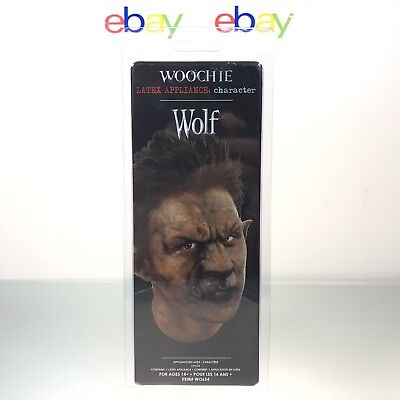 Woochie Wolf Face Latex Appliance Halloween Special Effects FX Hollywood - Halloween Face Special Effects
