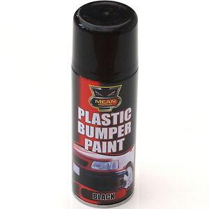 200ml black plastic bumper trim spray can restorer car bike auto paint. Black Bedroom Furniture Sets. Home Design Ideas