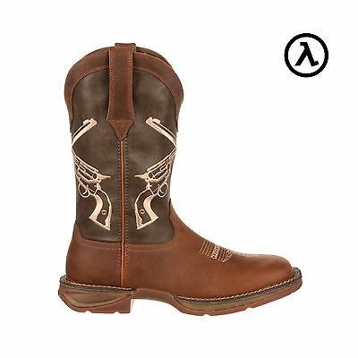Rebel By Durango Crossed Guns Western Boots Ddb0077   All Sizes   New