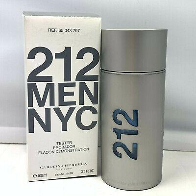 212 Men NYC By Carolina Herrera Eau de Toilette 100ml/3.4oz New In Tst Box