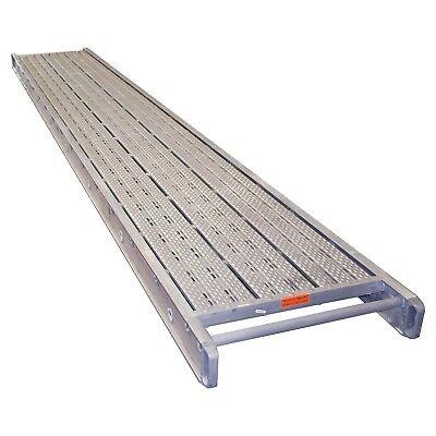 12 X 16 Stage Aluminum Plank 2 Man 500 Lbs. Cap. Aluminum Scaffold Plank