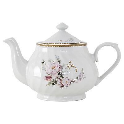 Timeless Rose Porcelain Teapot - 37oz