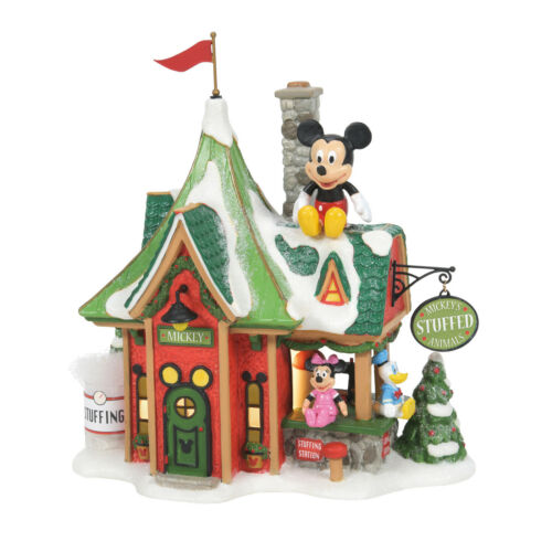 Dept 56 North Pole Christmas Mickey Mouse Stuffed Animal New 2021 6007614 Disney