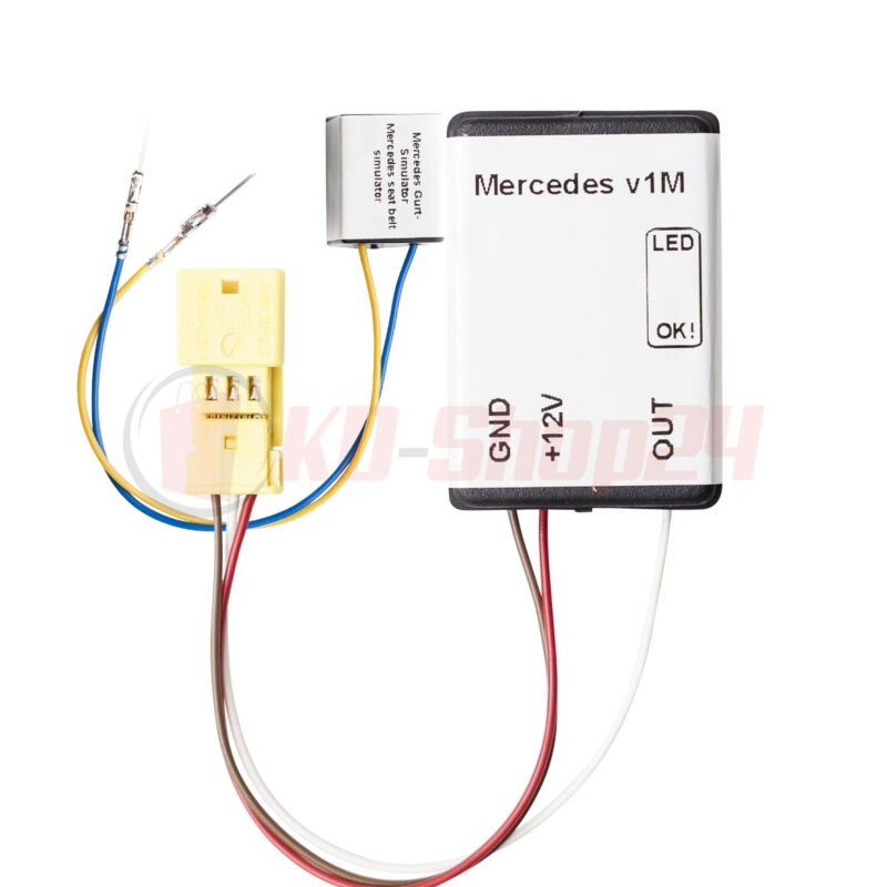FOR MERCEDES C W203 2000-2005 WITH LED! Airbag Emulator