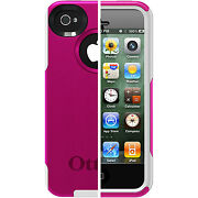 iPhone 4 Otterbox Commuter White