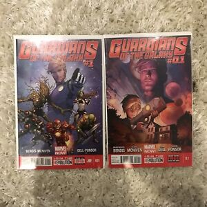 Guardians of the Galaxy #1 and 0.1