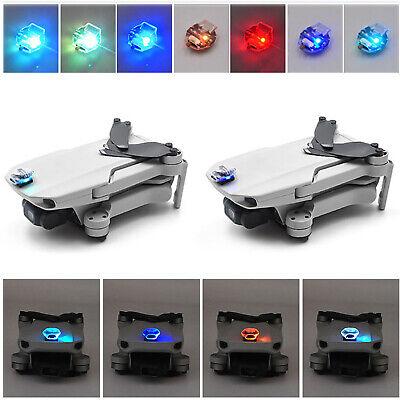 1/2PC Rechargeable Colorful Flash LED Light for DJI Mavic Mini Drone /RC car