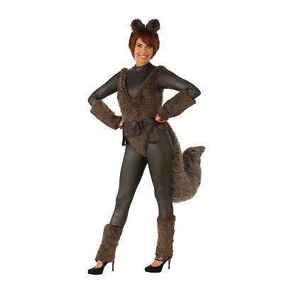 Female Marvel Cosplay Costumes (New Squirrel Girl Fury Marvel Adult Costume CH03631 Cosplay)