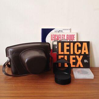 Leicaflex SL Camera - Summicron 50mm Lens - Original Leather Case