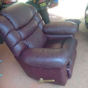 LAZYBOY Rocker Recliner GENUINE leather! Lismore Lismore Area Preview