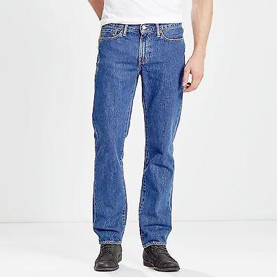 Levis 514 Jeans STONEWASH Denim Herrenjeans Hose  blau dark stone Nachfolger 751 Wash Denim Hose