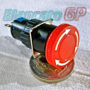 PULSANTE-DI-ARRESTO-DI-EMERGENZA-A-FUNGO-DA-16mm-pannello-interruttore-deviatore