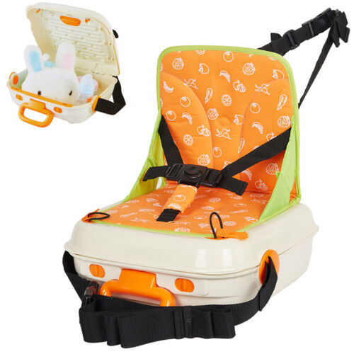 VILOBOS 2in1 Baby Booster Seat Portable Mummy Backpack Kids Travel Feeding Chair