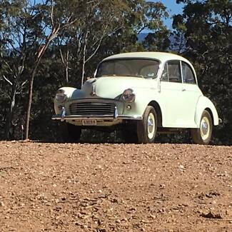 Superb 1958 Morris Minor 1000 2-door Sedan