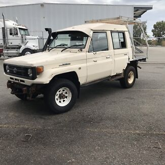 Toyota Landcruiser Hzj75 Welshpool Canning Area Preview