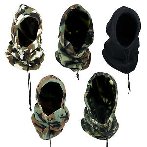 NEW-MENS-WINTER-WARM-FLEECE-CAMOUFLAGE-LONG-HOODY-NECKWARMER-SKI-BEANIE-HAT