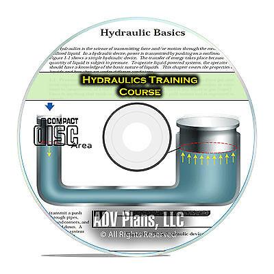 Hydraulics Journeyman Repair Technician Training Manual Course Books CD F52