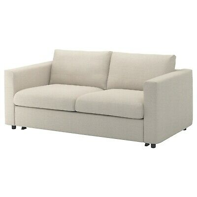 Ikea cover set for Vimle 2-Seater Sofa Bed in Gunnared Beige