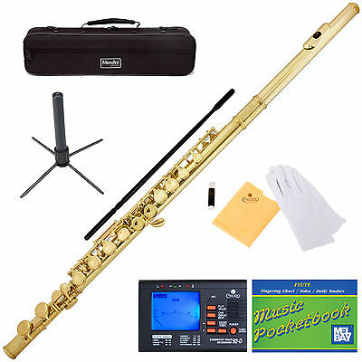 NEW GOLD SCHOOL BAND STUDENT C FLUTE w/ Split E on Rummage