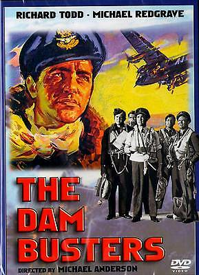 The Dam Busters  Dvd  2006    Official Usa Release Richard Todd Michael Redgrave
