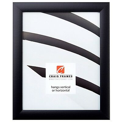 Craig Frames 1WB3BK 24 by 36-Inch Picture Frame, Smooth Wrap
