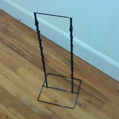 Double Round Strip Potato Chip Candy Clip Counter Display Rack In Black
